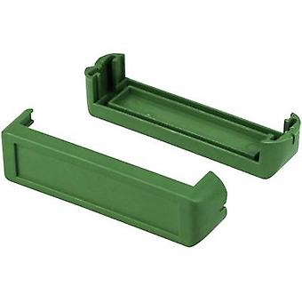 Axxatronic CHH64E1GR Corner pieces Plastic Green 2 pc(s)