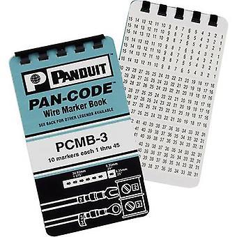 Panduit PCMB-1 självhäftande markör set Imprint 0-9 PCMB-1