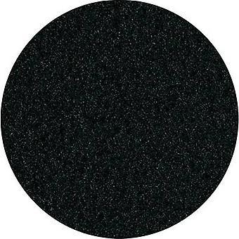 Gerilmiş Hoparlör Kapağı Kumaş Siyah (L x W) 200 cm x 75 cm