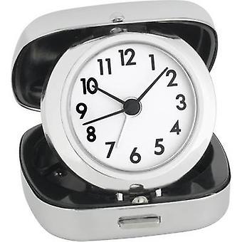 TFA Dostmann 60-1012 QuarzWecker Silber Alarmzeiten 1