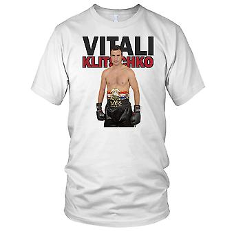 Vitali Klitschko boxning Legend damer T Shirt