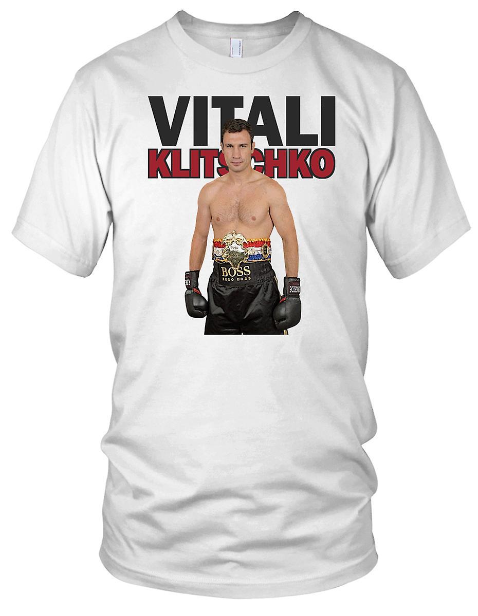 Vitali Klitschko boksing legende Kids T skjorte