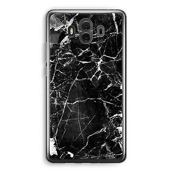 Huawei Mate 10 caso transparente (Soft) - mármore preto 2