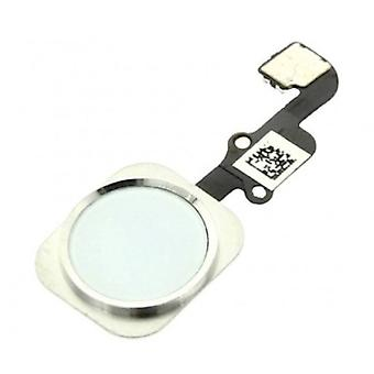 Stuff Certified® For Apple iPhone 6/6 Plus - A + Home Button Assembly with Flex Cable White