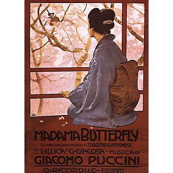 Pucini-Madama Butterfly Poster Print (20 x 28)