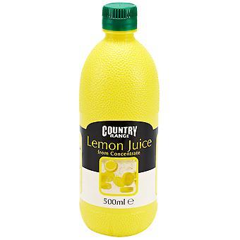 Paese serie succo di limone