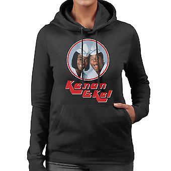 Kenan e Kel Retro Photo Frame moletom com capuz feminina