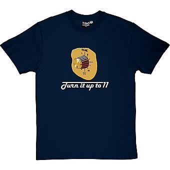 Gire hasta camiseta once hombres