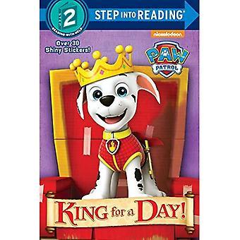 King for a Day! (Patte de patrouille) (Étape en lecture)