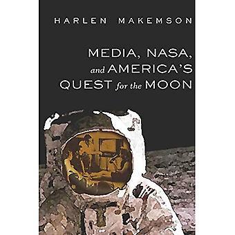 Medios de comunicación, la NASA y de Estados Unidos busca la luna (mediación de historia americana)