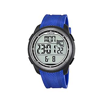 Calypso K5704/3-Unisex horloge, kunststof, kleur: blauw
