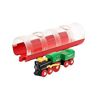 BRIO damptog & Tunnel 33892 for tre ligger stille