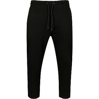 Цикл классика - обрезанное Терри брюки черные