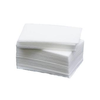 100pcs Lint-free cushions, nail wipes, nail pads
