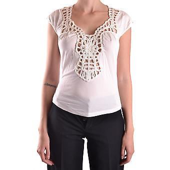 John Richmond Ezbc082089 Women's White Viscose T-shirt