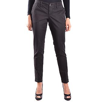 Fay Ezbc035003 Women's Black Cotton Pants