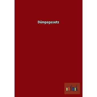 Dngegesetz von Ohne Autor