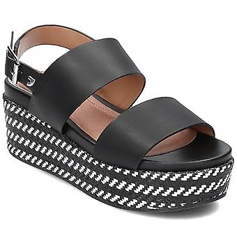 Gioseppo Serres SERRES48567BLACK universal summer women shoes
