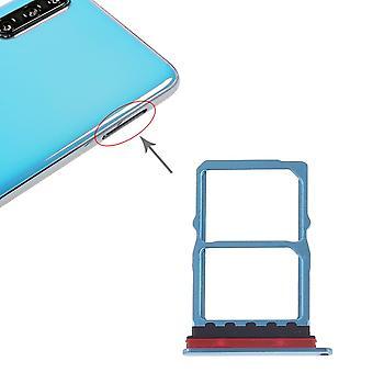 Sim bandeja do cartão para Huawei p30 azul swap titular do cartão Sledge titular swap substituição