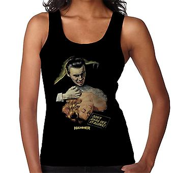 Hammer Dracula Dont Dare See It Alone Poster Women's Vest