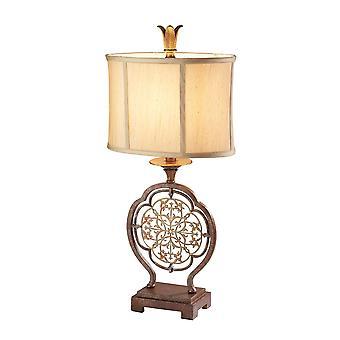 Marcella één lichte tafellamp - Elstead verlichting Fe / Marcella / FE/MARCELLA/TL