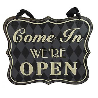 Heaven Sends Chic Reversible Open And Closed Sign