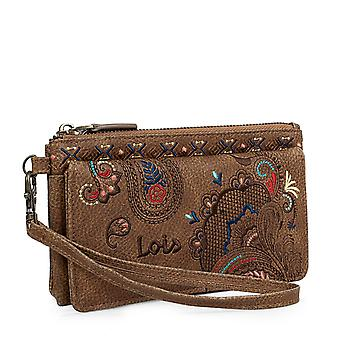 Wallet Women's Wallet With Embroidered Kashmir Lois 302620