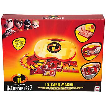 Incredibles ID Card Maker set