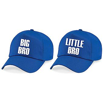 Boys Big Bro Little Bro Baseball Cap Set