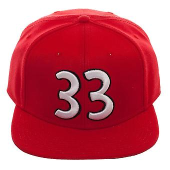Baseball Cap - Hey Arnold - Gerald Red Snapback New Licensed sb6kluarn