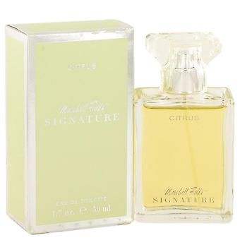 Marshall fields signature citrus eau de toilette spray (scratched box) by marshall fields 525508 100 ml