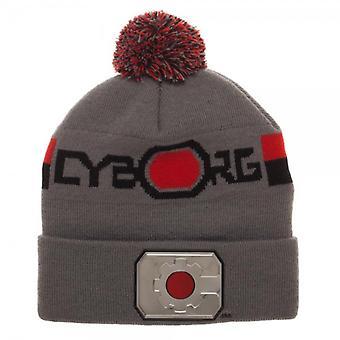 Beanie Cap - Cybrog - Chrome Weld Knit New kc5yxbdco