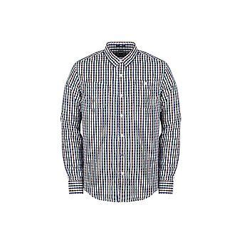 Weekend Offender Parker Autumn Check Shirt
