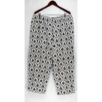 Petite Lounge Pant P1X Micro Fleece Novelty Basic Blue A294388