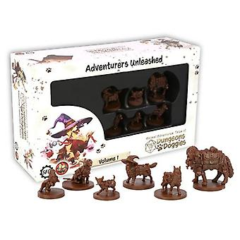 Animal Adventures Tales of Dungeons and Doggies Box 1 Board Game