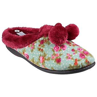 Mirak Womens Chabilis Mule Slipper Red