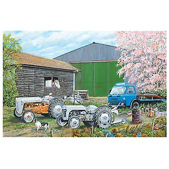 Roy Didwell Springtime Farmyard 1000 Piece Jigsaw Puzzle 690mm x 480mm (jg)