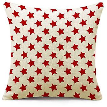 Wellindal Cushion Cover Stars Polyester (Decoration , Cushions)