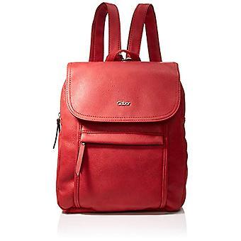 غابور مينا - حقائب ظهر النساء الحمراء (روت) 26x31x10 سم (W x H L)