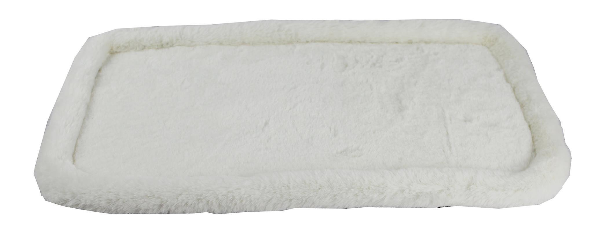 Rhodium series faux fleece pad with plywood base