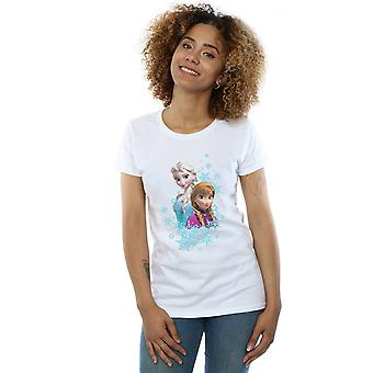 Disney Women's Frozen Elsa And Anna Sisters T-Shirt