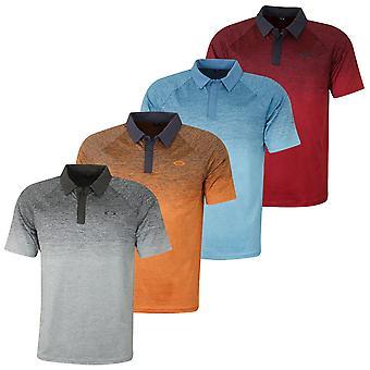 Oakley Hombres Cuatro Jack Gradient Golf Polo Camisa