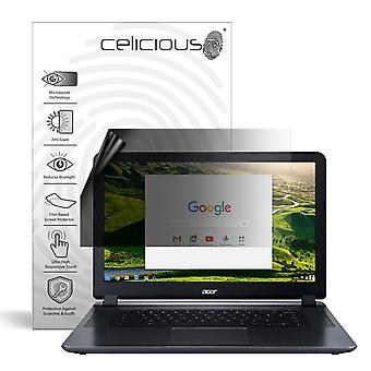 Celicious Privacy Lite 2-Way Anti-Glare Anti-Spy Filter Screen Protector Film Compatible with Acer Chromebook 15 CB3-532