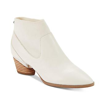 DKNY Womens Waylen Leather Pointed Toe Ankle Chelsea Boots