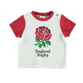 Anglia RFU rugby Baby/bebelusul Rose T-shirt | 2019/20