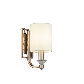 Maytoni Lighting Vittoria Krem ze złotą lampą ścienną 1 X 40W