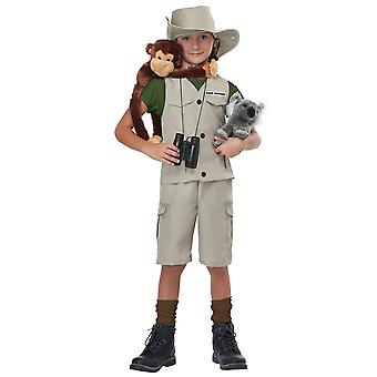Wildlife Expert Archaeologist Park Ranger Zoo Keeper Child Girls Boys Costume