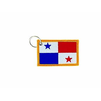 Cle Cles Key Brode Patch Ecusson Badge Flag Panama Panameen
