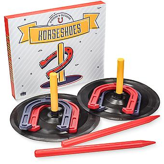 Deluxe Indoor and Outdoor Horseshoe Game Set