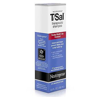 Neutrogena t/sal therapeutic shampoo, scalp build-up control, 4.5 oz